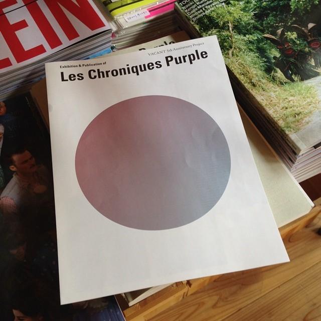 昨日行って来た「les chroniques purple」展。center for cosmic wonderでやってます。は〜。。よかった〜。