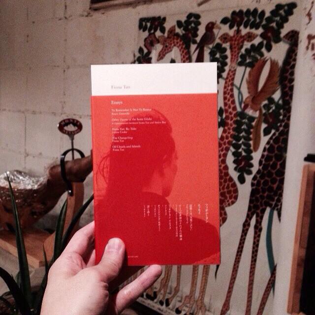 Fiona Tan / Essays再入荷です。
