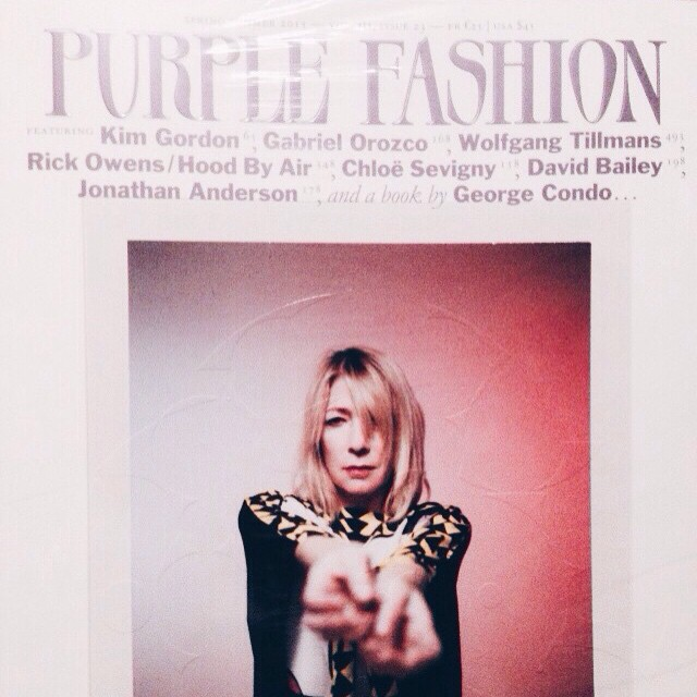 It's arrived.purple fashion issue23