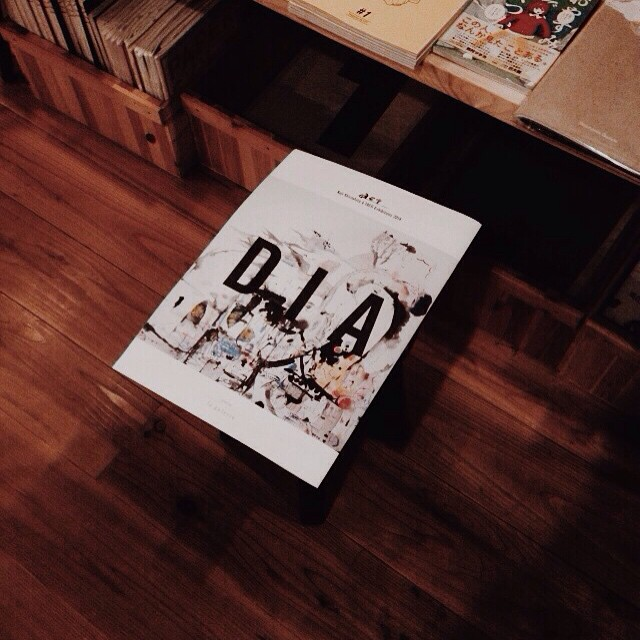 2014年12月に行われた城下浩伺さん、TACOさんの展覧会のDIALOG。「act」ふたりでえがくこと。