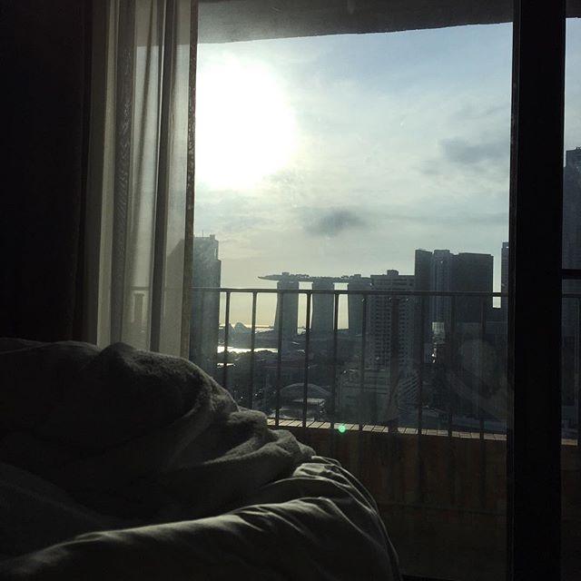 シンガポールより帰国しました。寒い。。