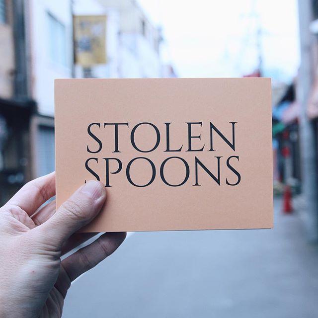 David Horvitz /Stolen Spoons盗んだスプーンの写真集っす