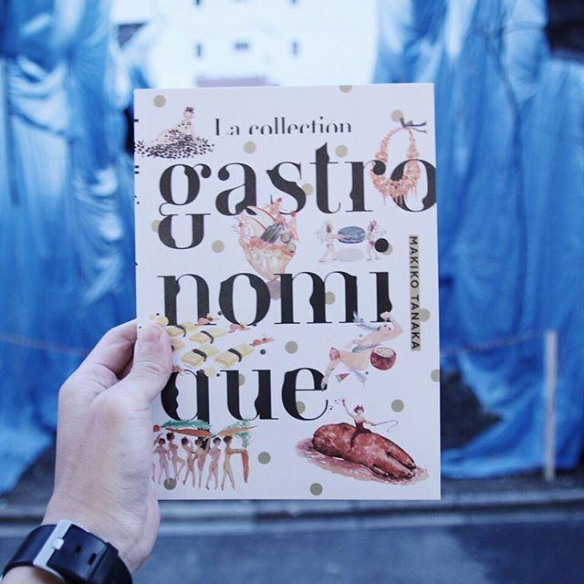 田中麻記子 / La collection gastronomiqueパリに暮らす彼女が日課として書いていたポートレイト。それが次第に食べ物を描くように。